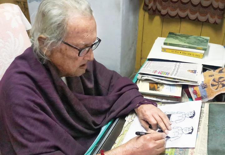 Breaking: হাঁদা ভোদা থেকে বাঁটুল, বাংলা শিশুসাহিত্যের অমর শিল্পী নারায়ণ দেবনাথ পেলেন পদ্মশ্রী